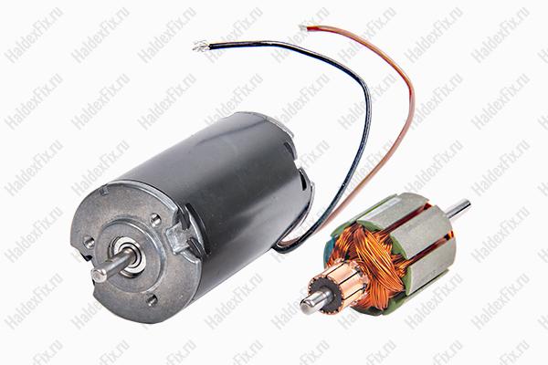 электромотор насоса и якорь (мотора)